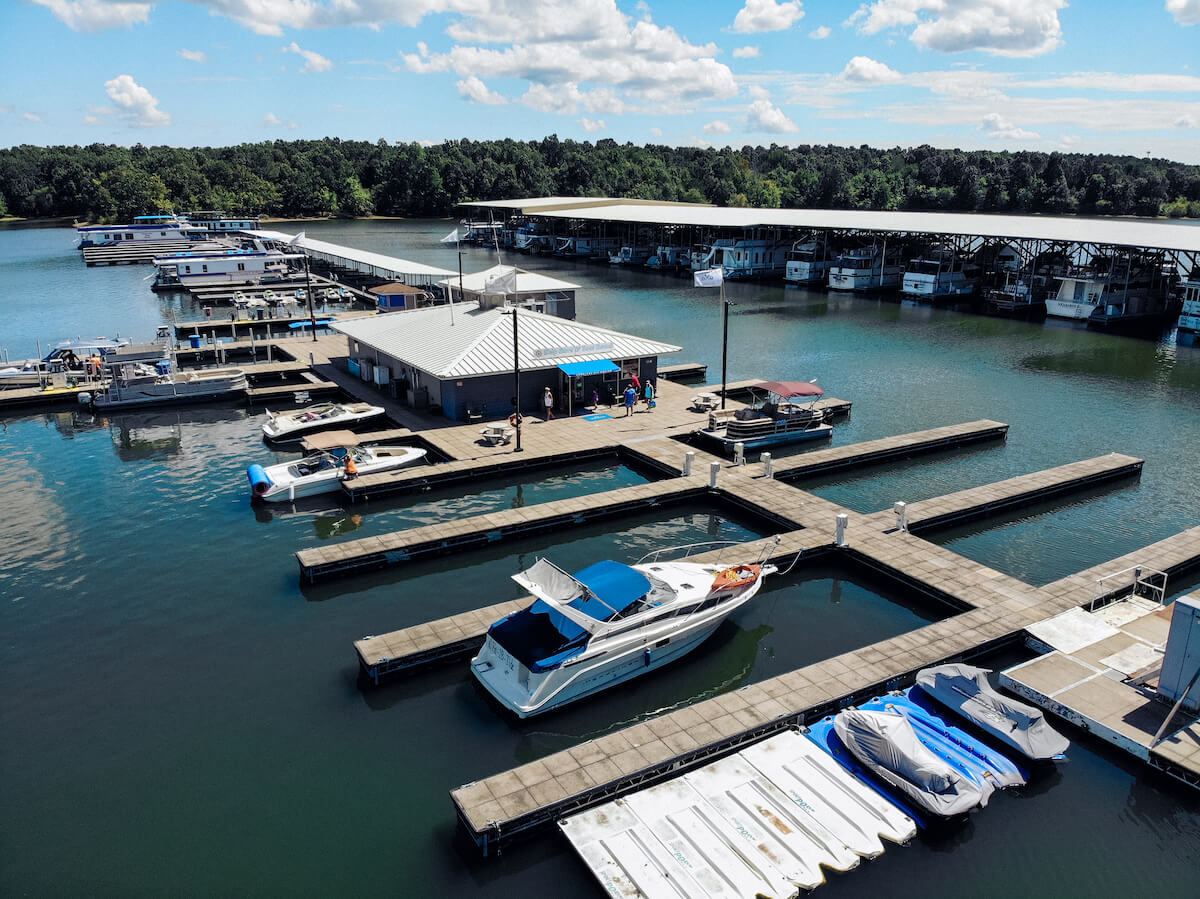 Marine Services and Slips at Kentucky Dam Marina